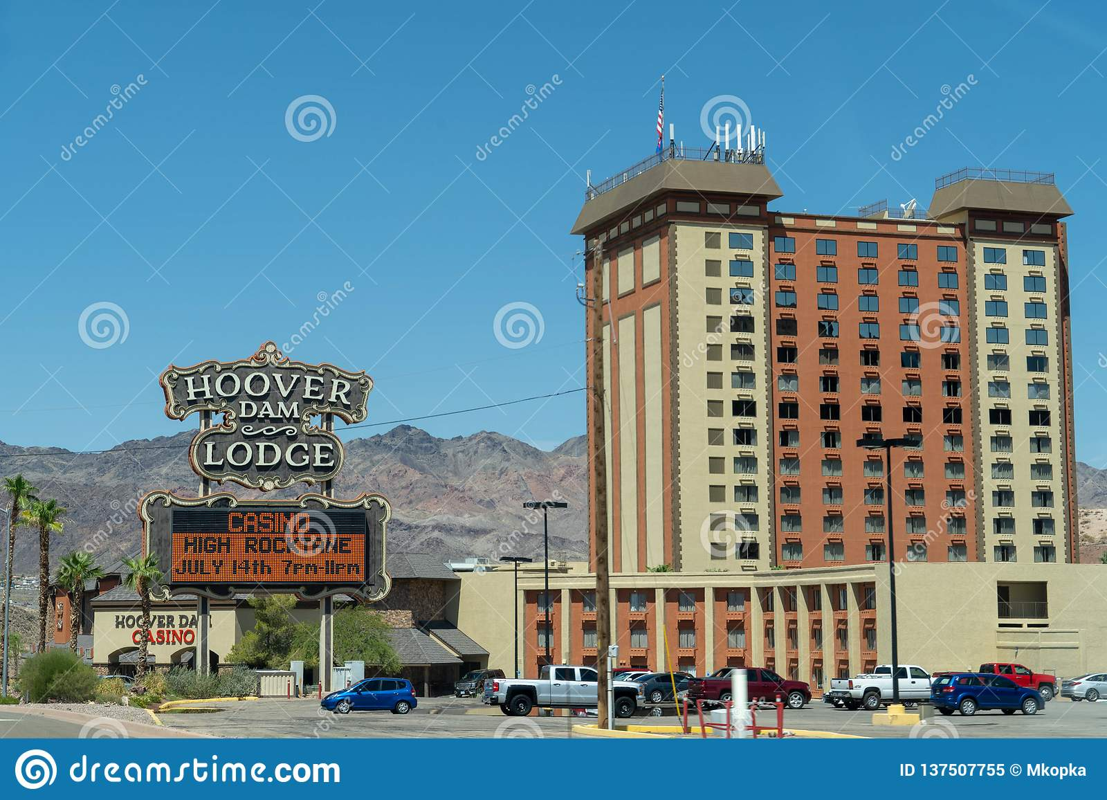 Boulder City, Nevada - The Hoover Dam Lodge, A Hotel And