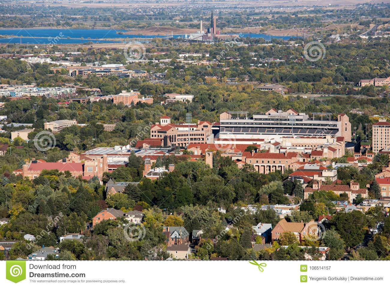 Boulder city University, Colorado