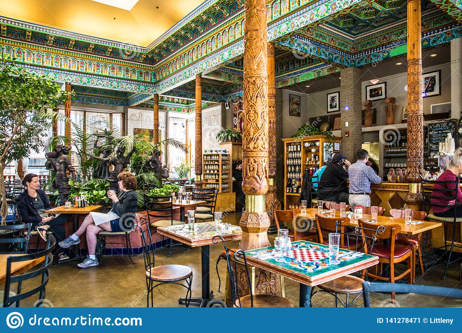 Dushanbe Teahouse In Boulder Colorado Editorial Photo Image Of