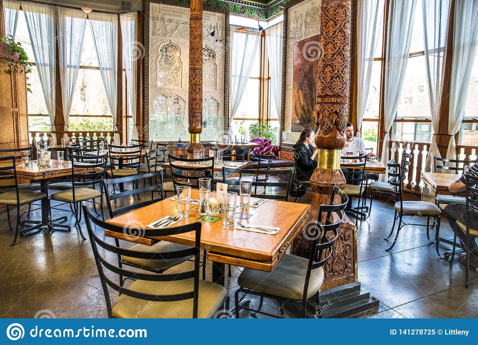 Dushanbe Teahouse In Boulder Colorado Editorial Image Image Of