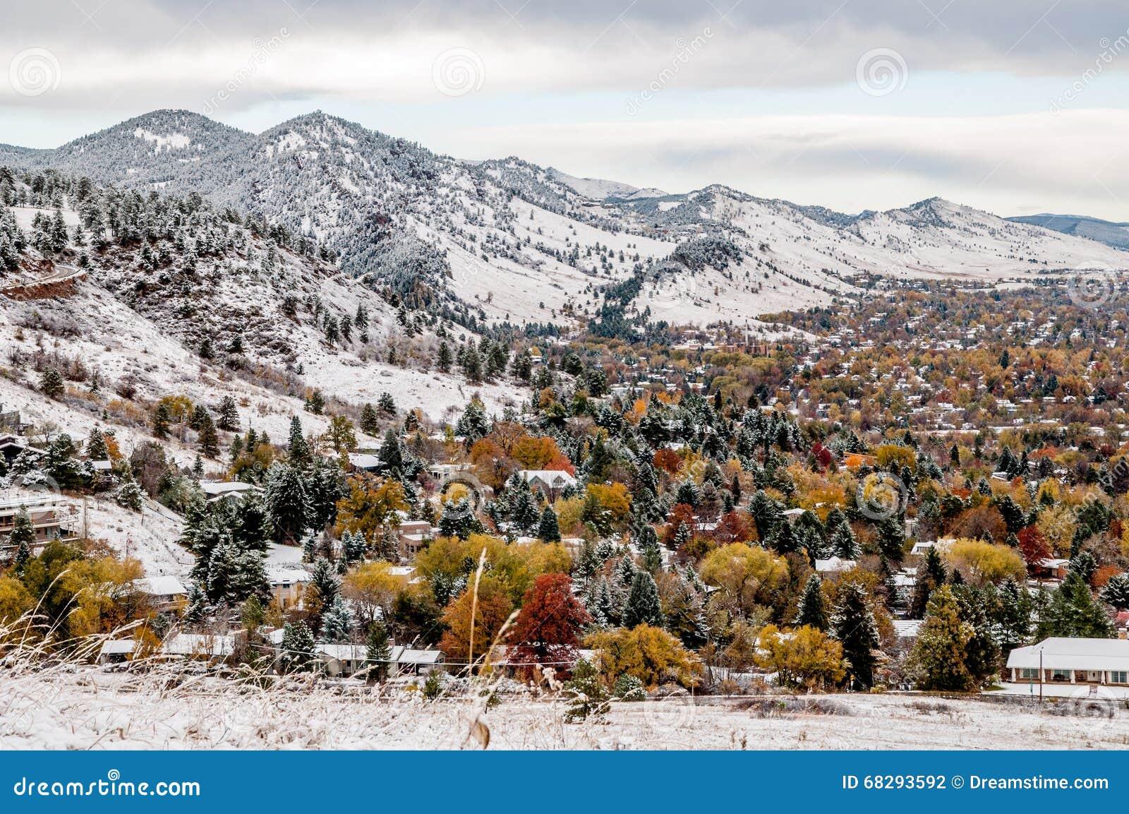 Boulder Colorado - First Snow