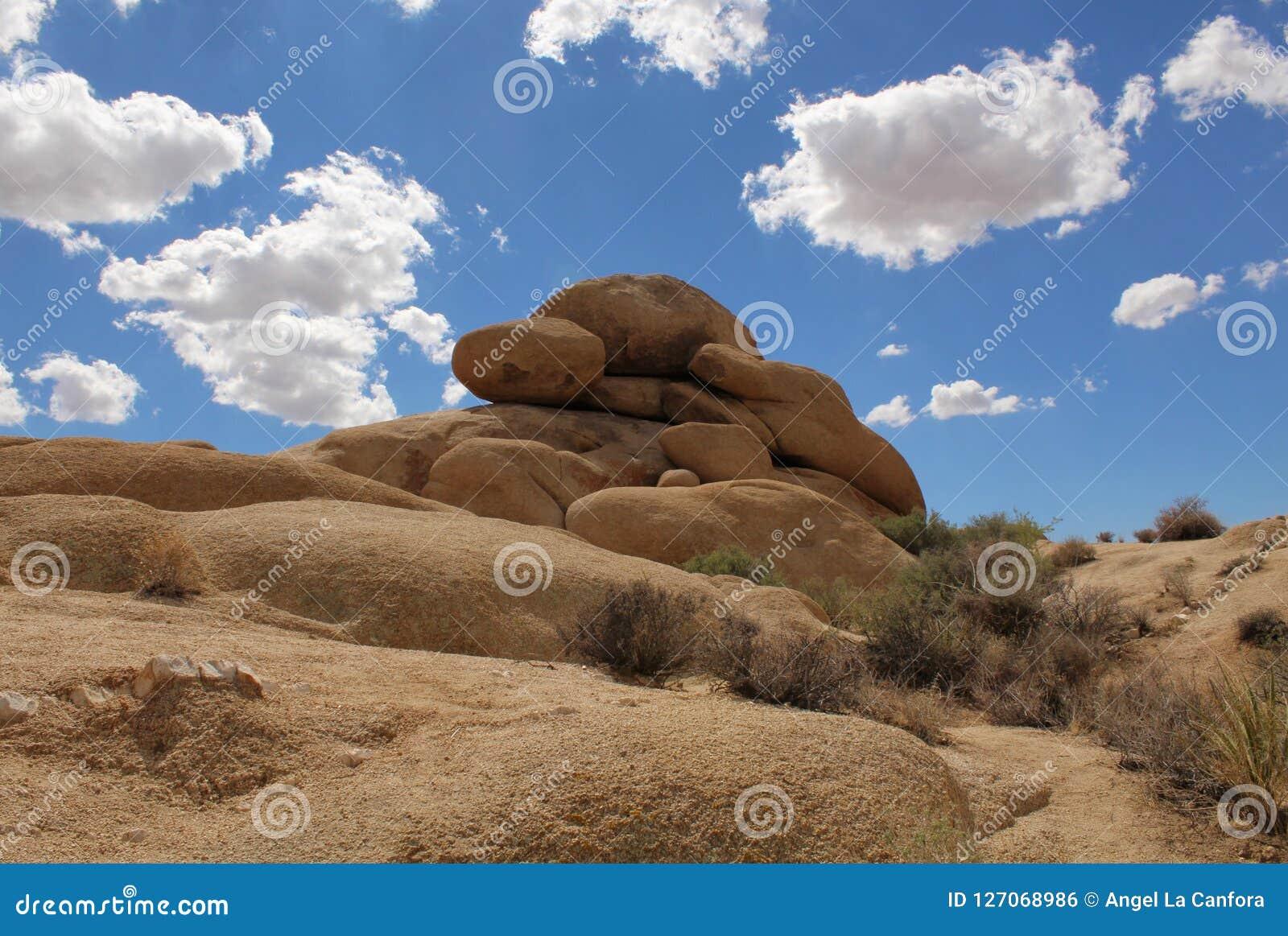 Boulders At Jumbo Rocks Campground Joshua Tree National
