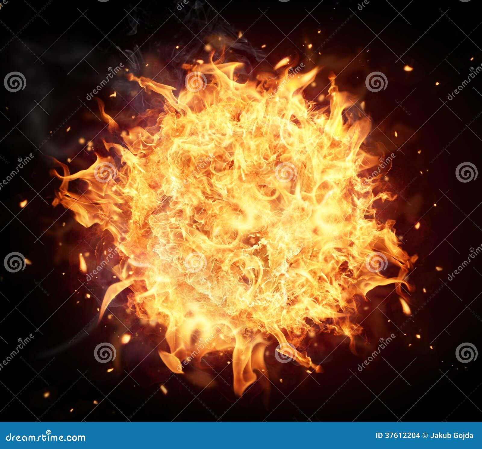 boule de feu wallpaper - photo #1