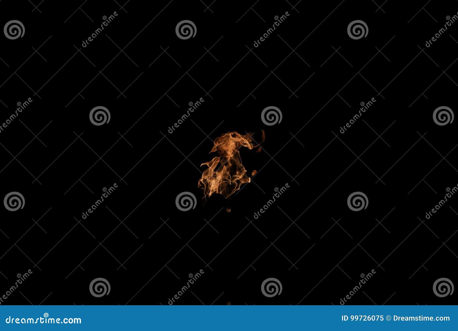Boule de flamme du feu