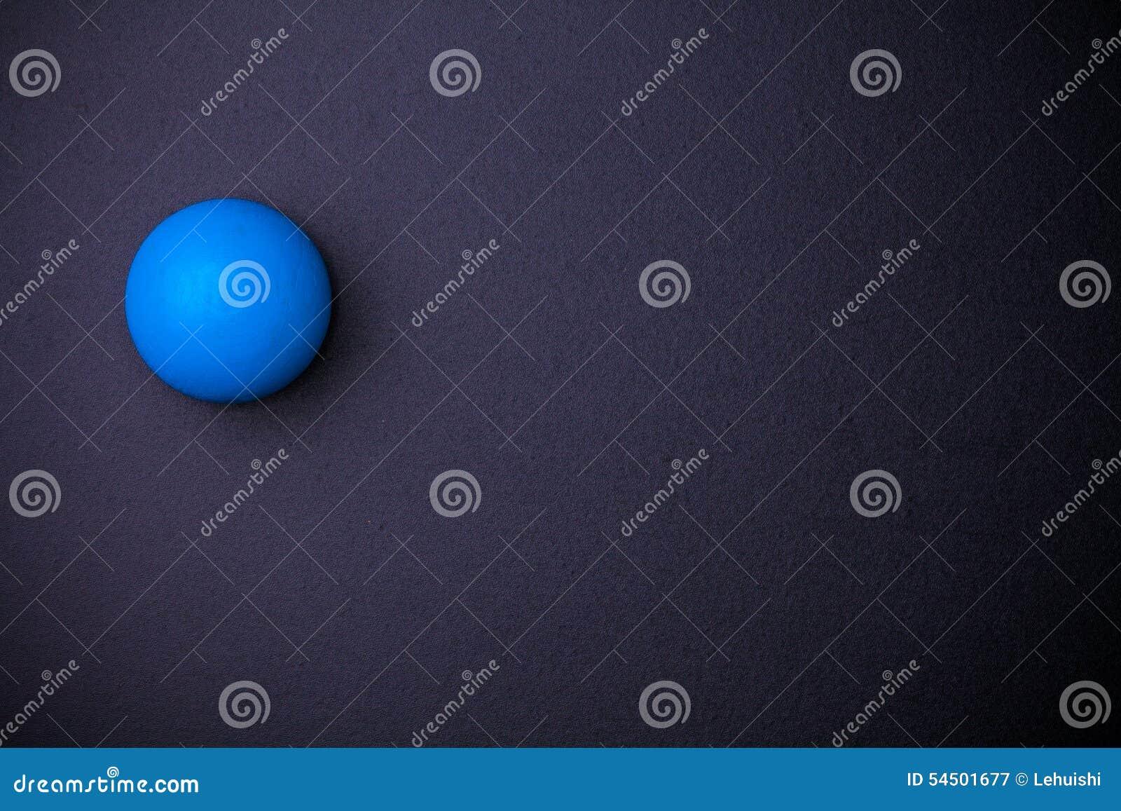 Boule de sphère sur le tableau noir