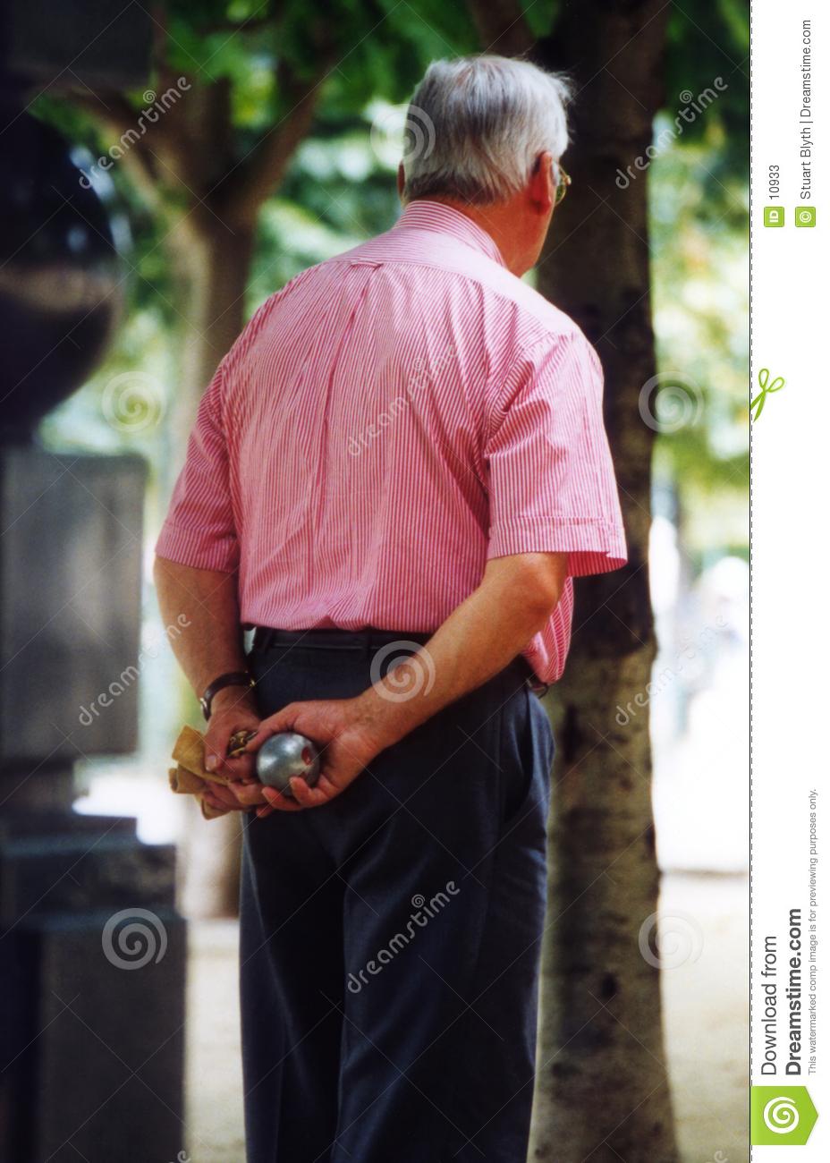 Boules Player