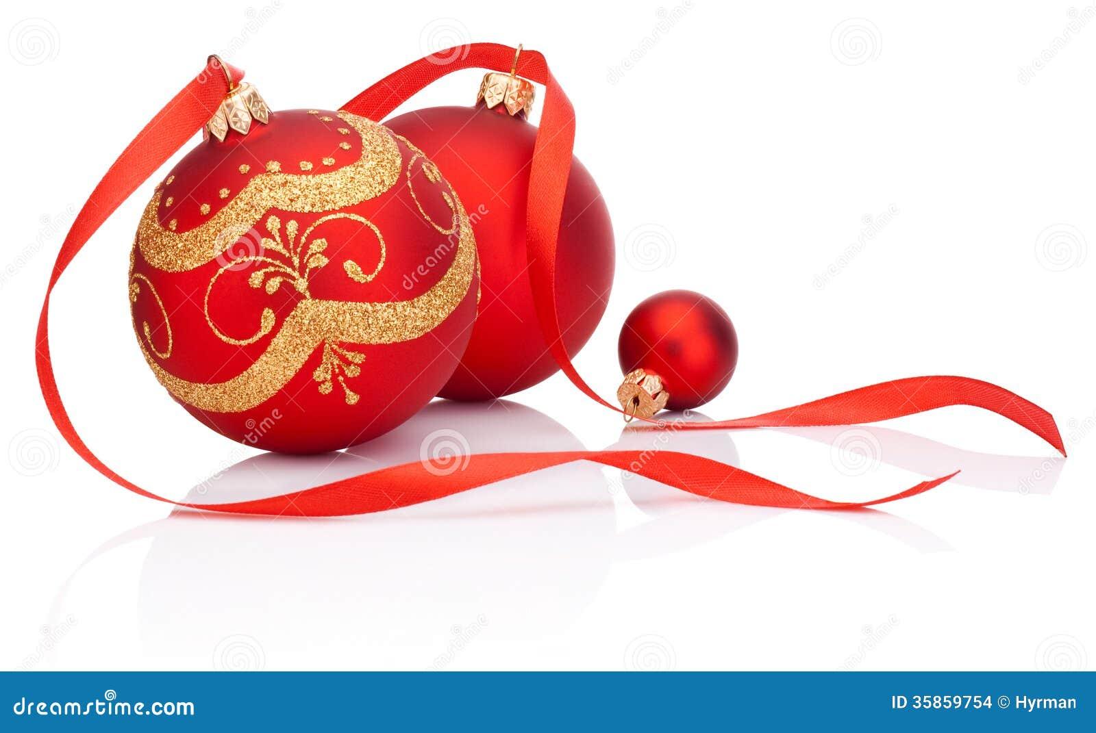 #92151F Boules Rouges De Décoration De Noël Avec L'arc De Ruban D  5335 décorations de noel avec ruban 1300x887 px @ aertt.com