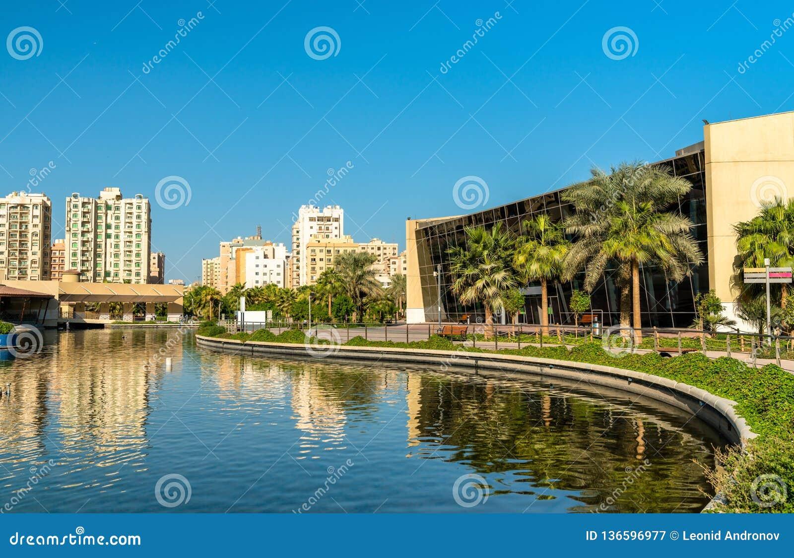 Boulevardpark in Salmiya, Koeweit