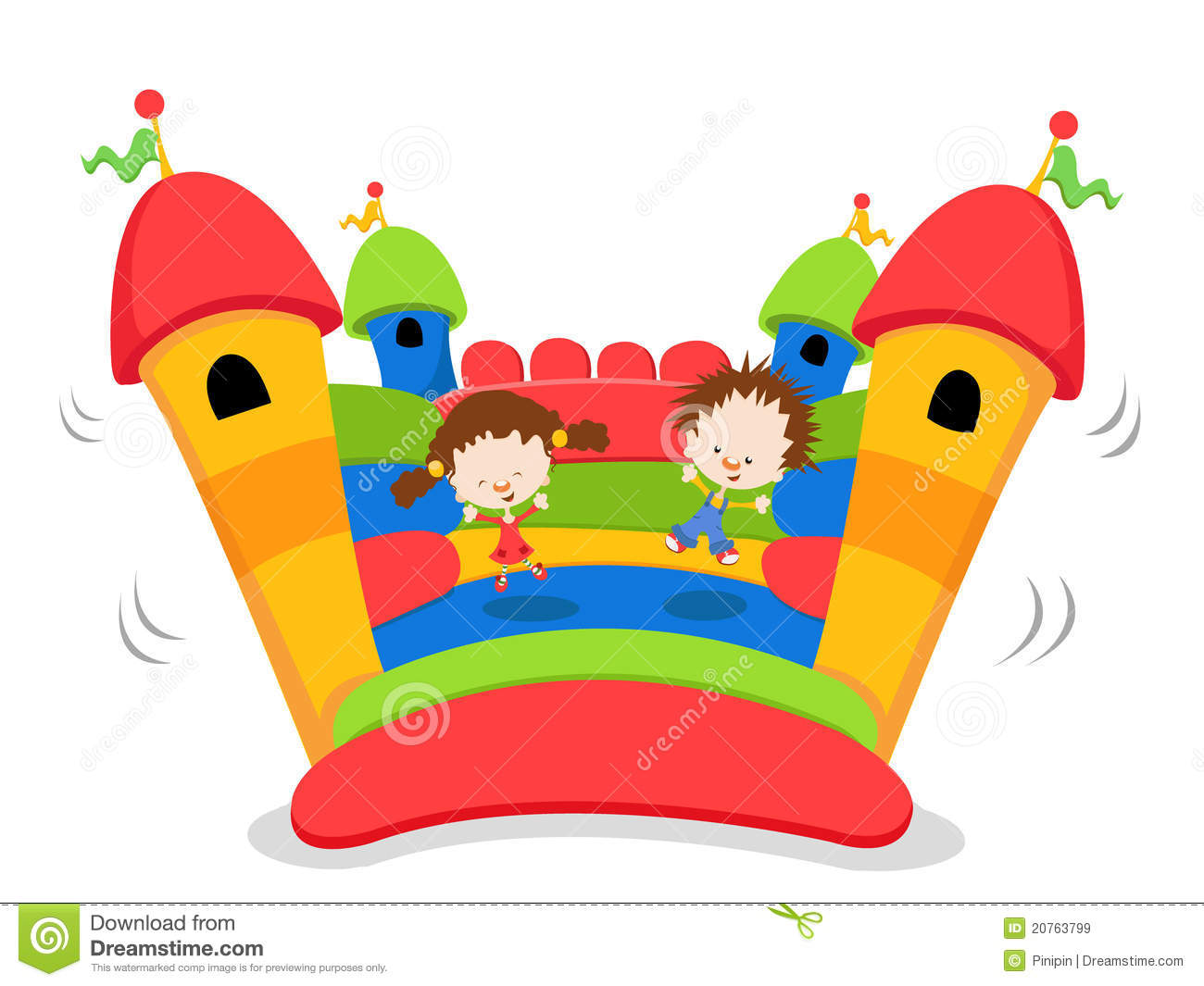 Bouncy Castle Royalty Free Stock Images Image 20763799