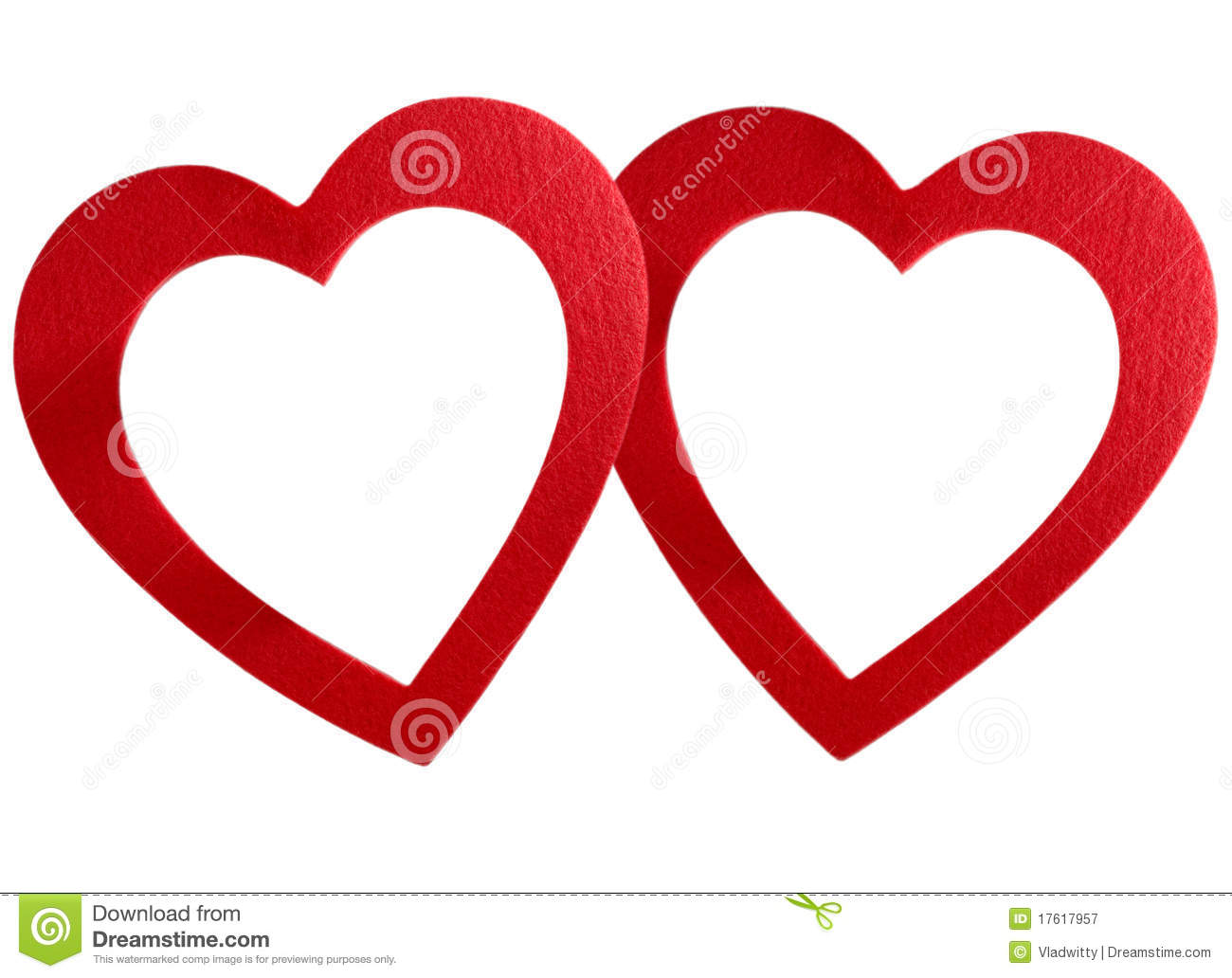 Bound hearts frame stock image. Image of happiness, design - 17617957