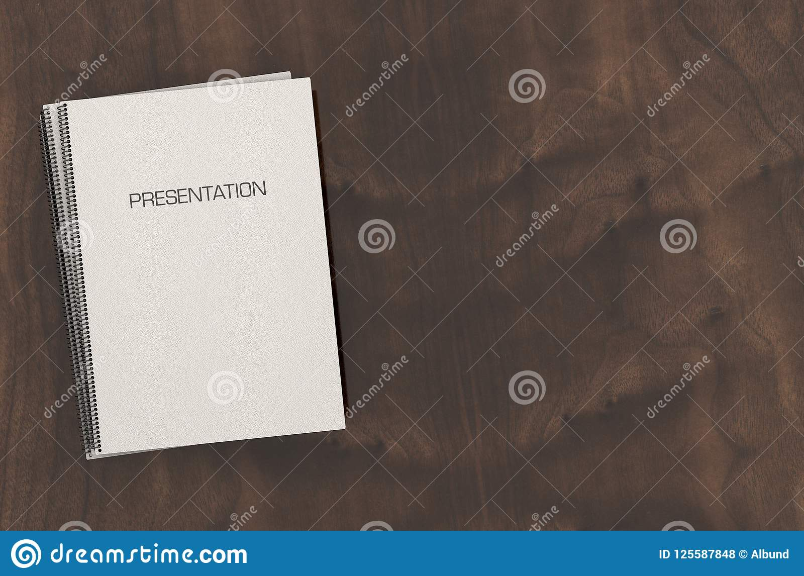 bound presentation booklet pile stock photo image of boardroom