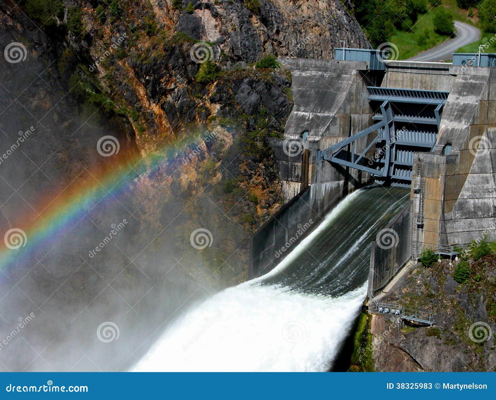 boundary dam spillway stock photo image 45306573