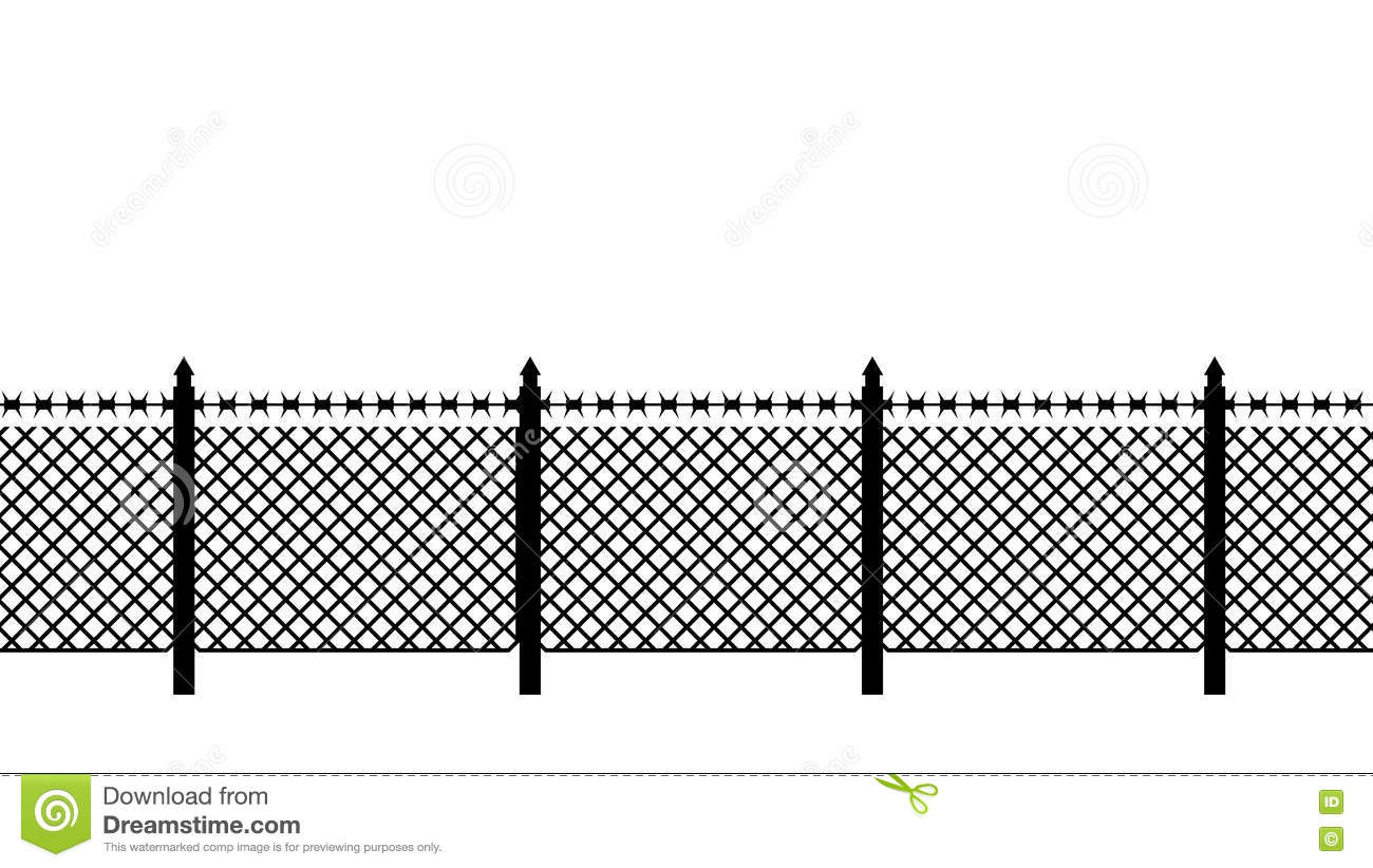 Perfect Barbed Wire Clip Art Border Adornment - Everything You Need ...
