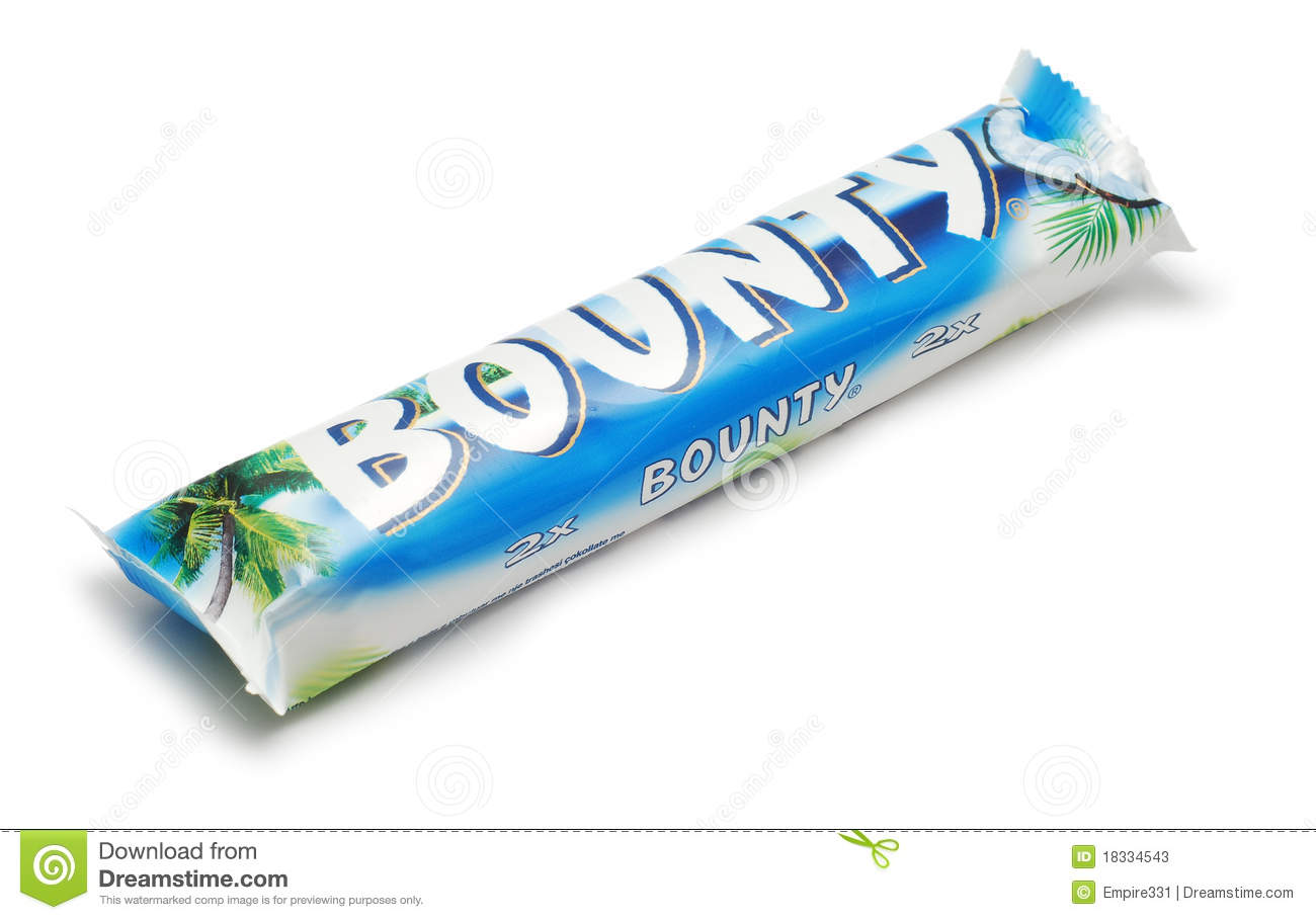 Bounty Chocolate Editorial Stock Photo - Image: 18334543