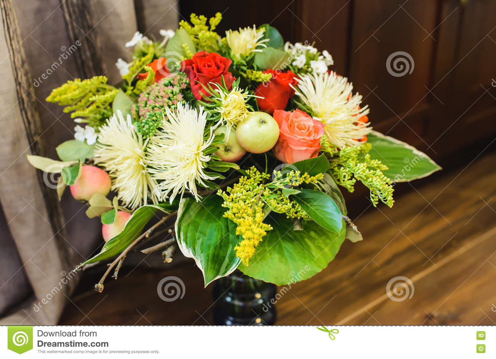 Bouquet étonnant d automne