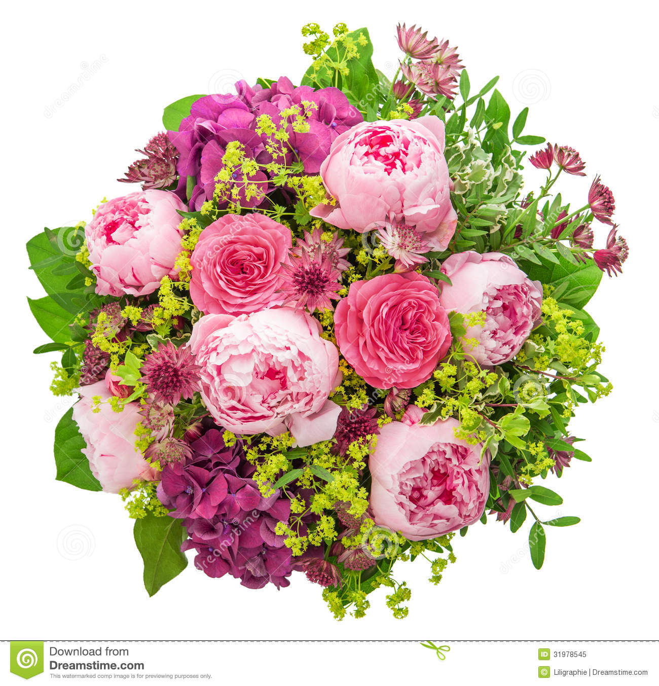 Bouquet of beautiful pink peony on white background stock image bouquet of beautiful pink peony on white background izmirmasajfo