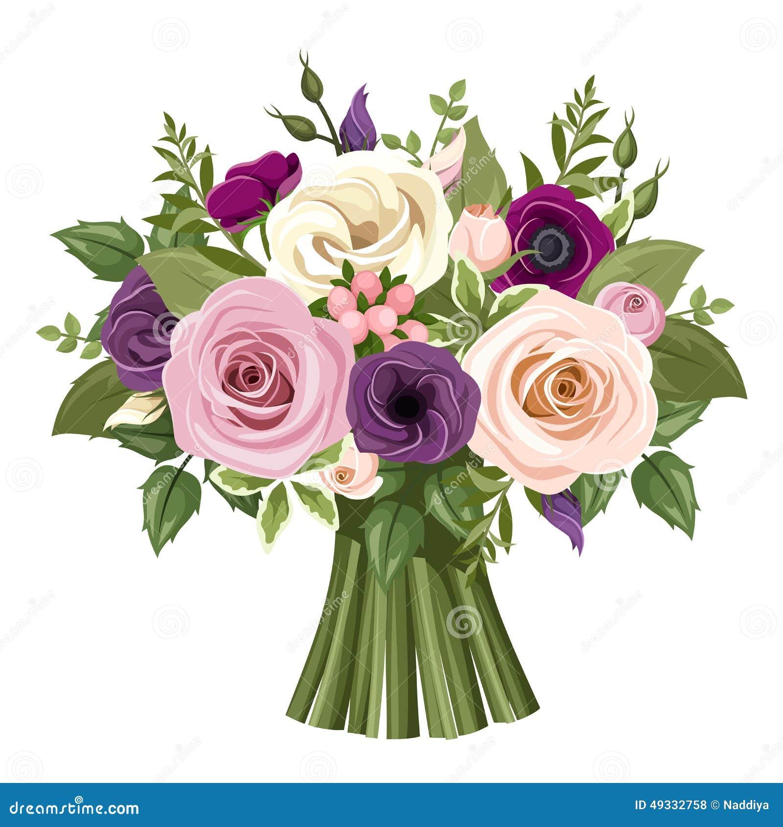 Bouquet of colorful roses and lisianthus flowers vector download bouquet of colorful roses and lisianthus flowers vector illustration stock vector illustration altavistaventures Choice Image