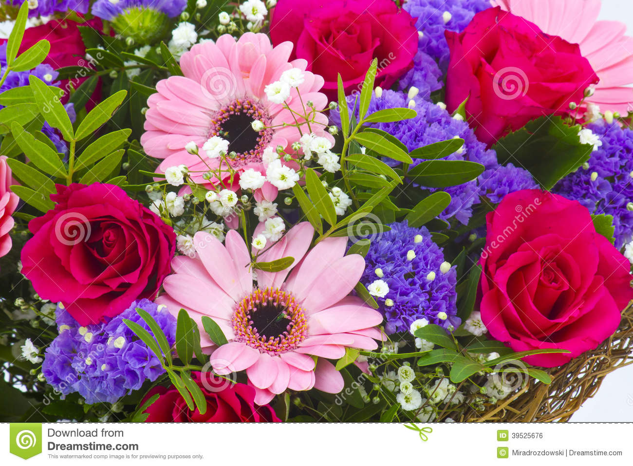 Bouquet of colourful flowers stock photo image of bloom bouquet of colourful flowers izmirmasajfo