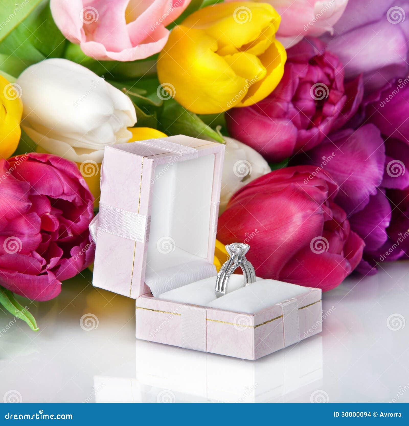 Fleurs de mariage tulipes