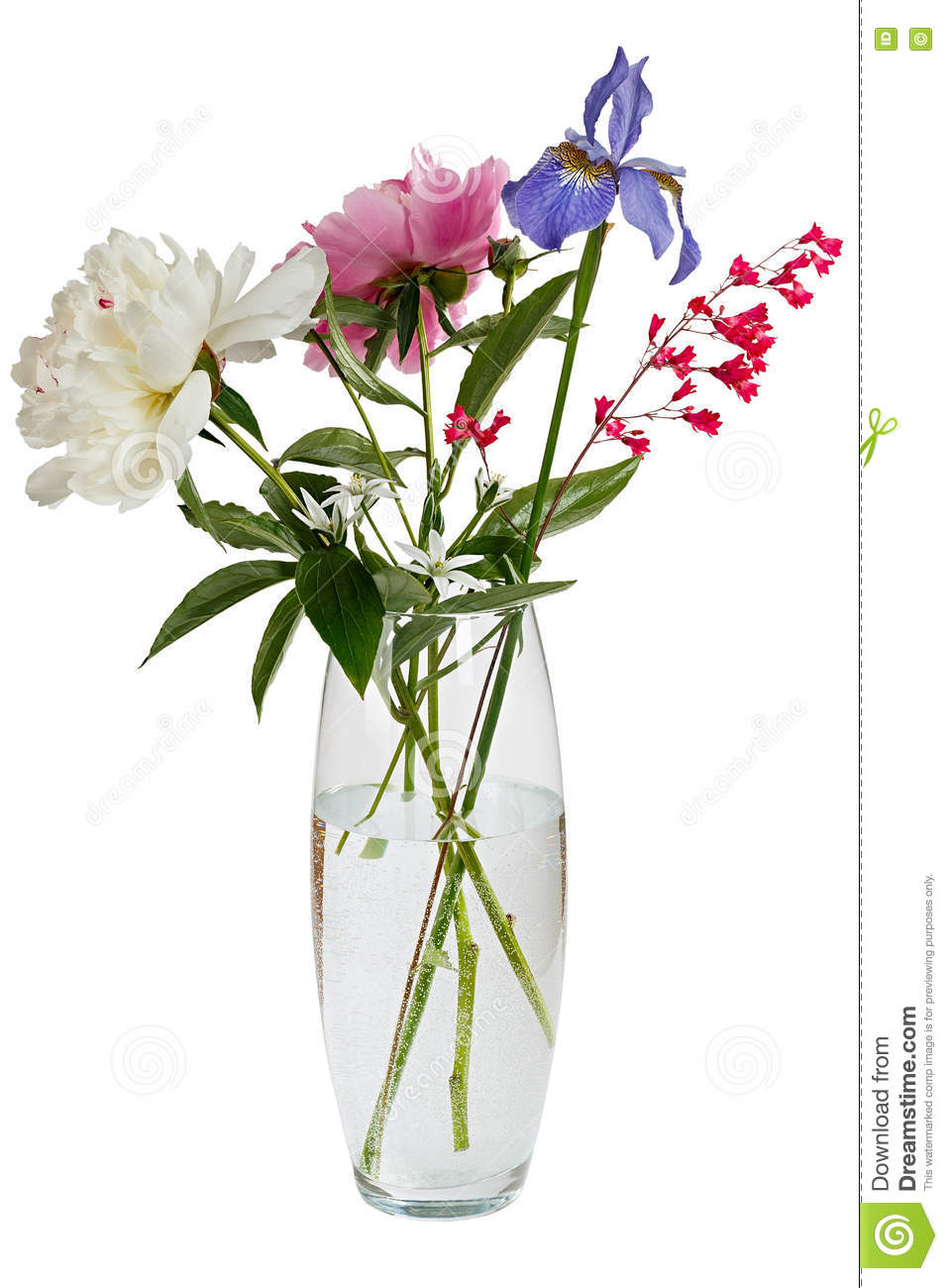 Fleur dans vase transparent fashion designs for Bouquet de fleurs 974