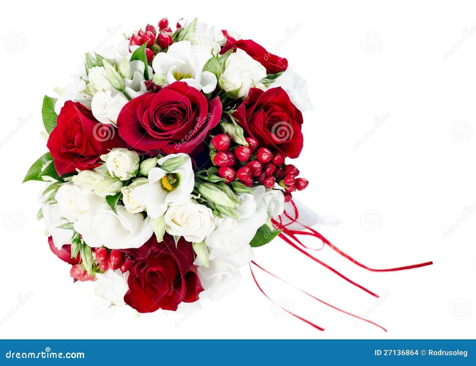 bouquet de mariage de fleur pour la mari e images stock image 27136864. Black Bedroom Furniture Sets. Home Design Ideas
