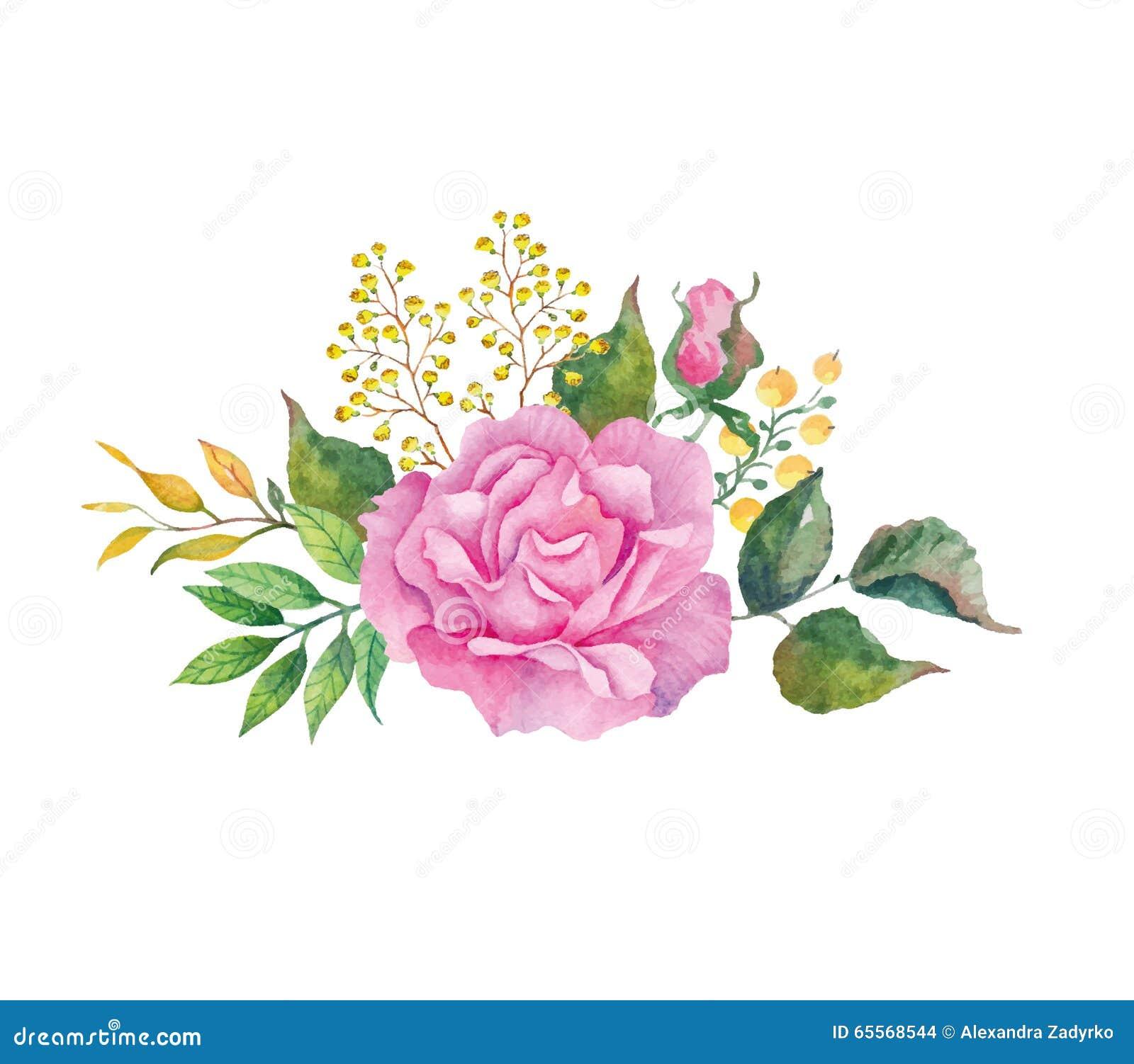 Fleurs T Fond Blanc