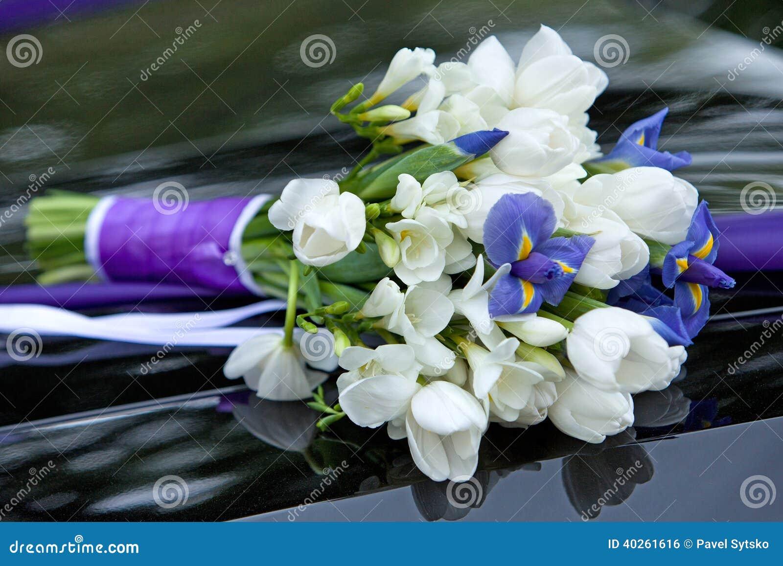 Préférence Bouquet de fleurs blanches et bleues | Map titecampagne CT83