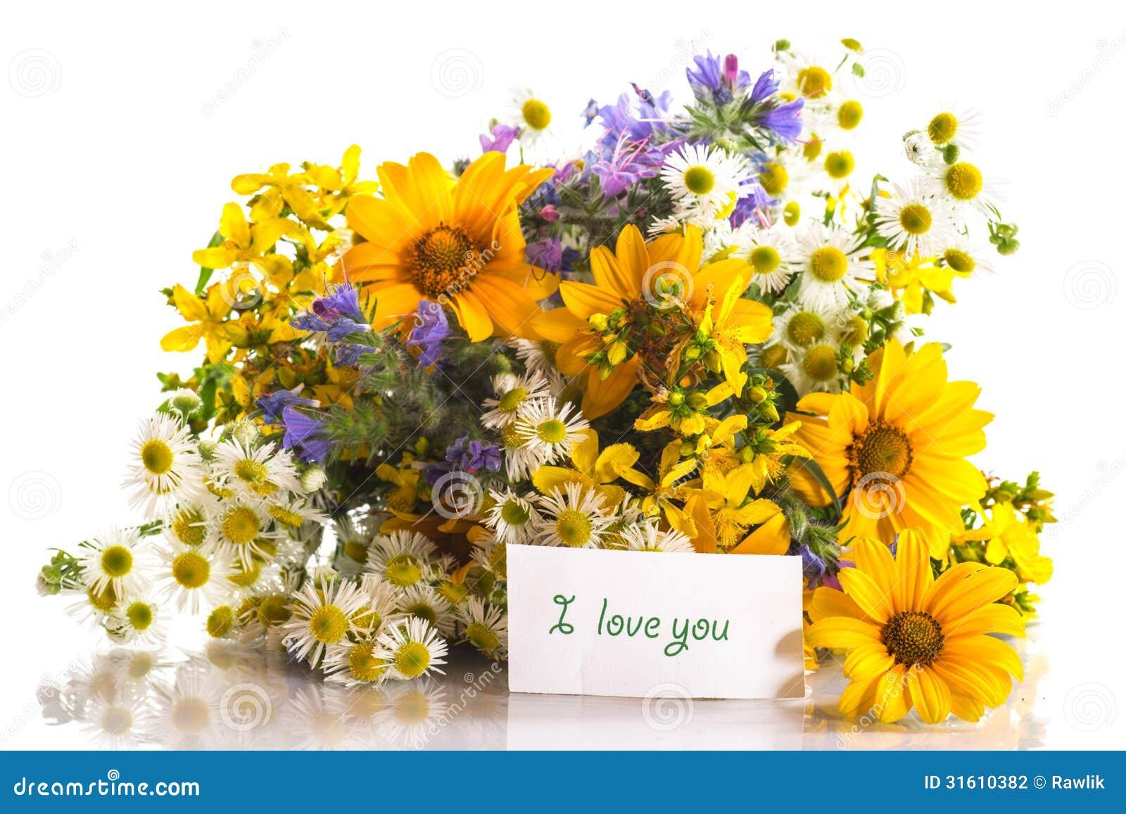 Bouquet Des Fleurs D 39 T Photographie Stock Image 31610382