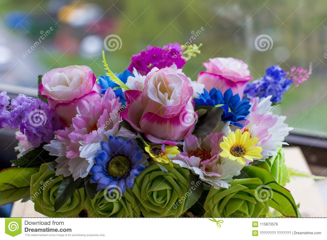 Bouquet of different flowers stock photo image of fresh romantic bouquet of different flowers izmirmasajfo