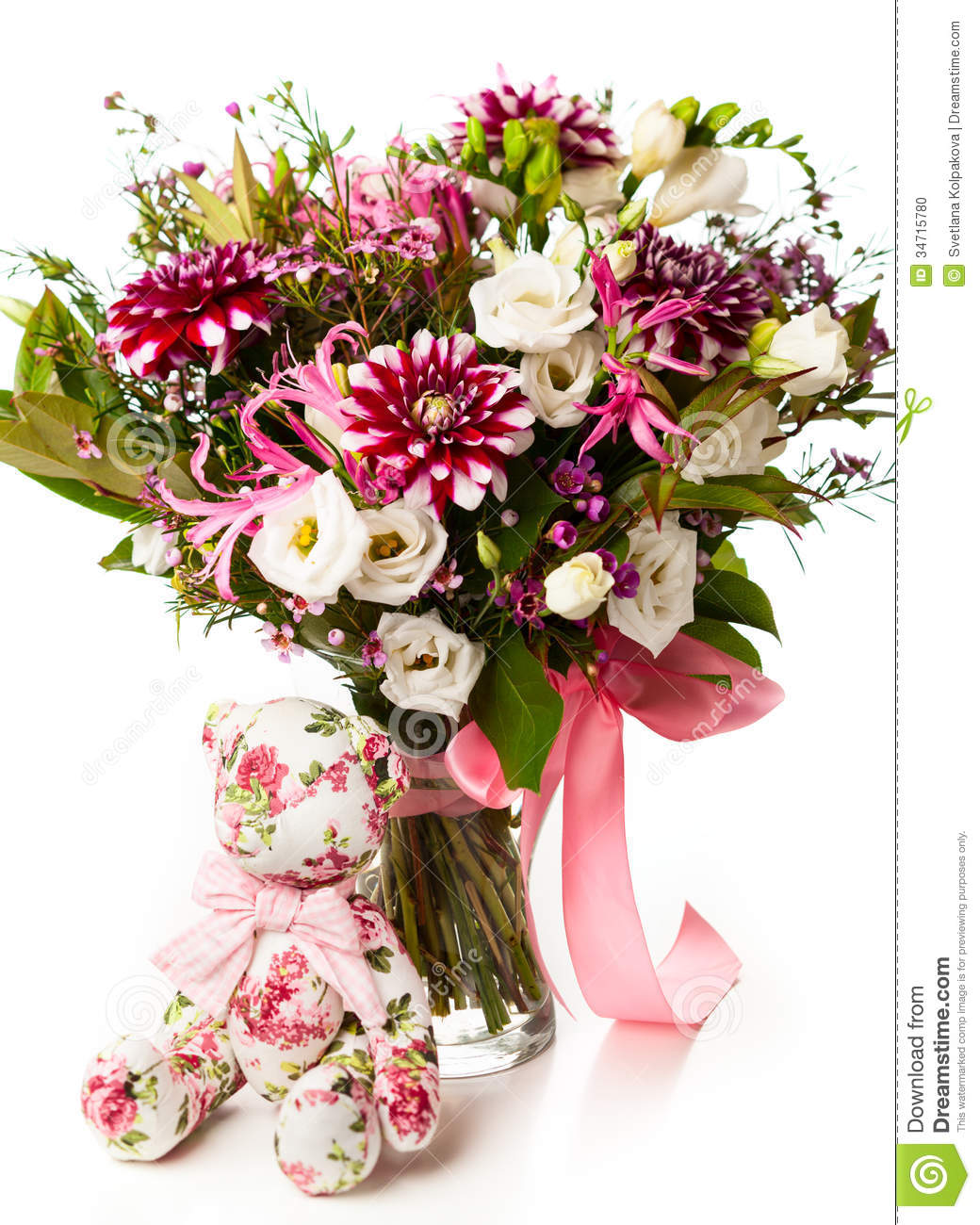 Bouquet of flowers stock photo image 34715780 for Picture of a bouquet of flowers