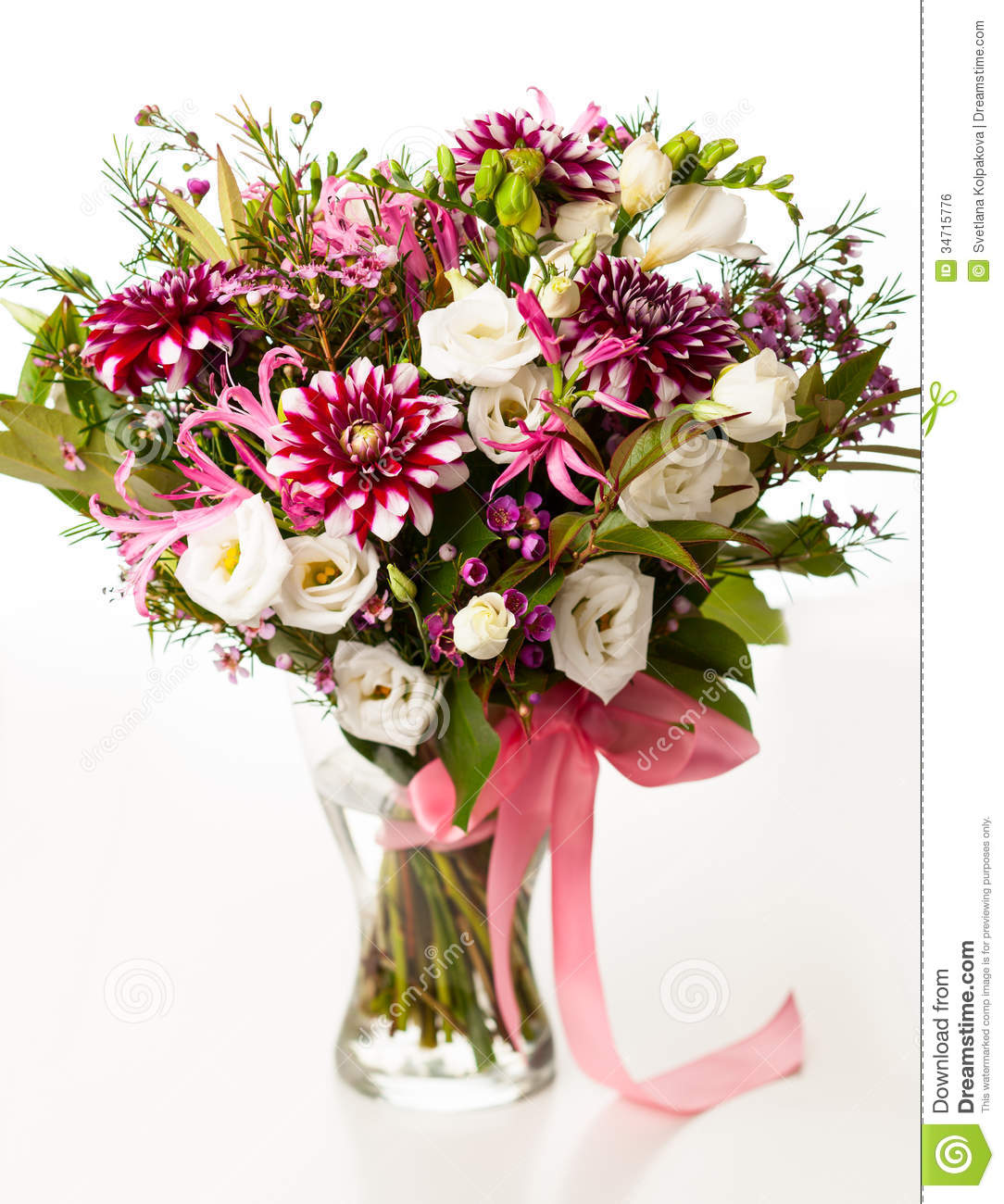 Bouquet of flowers stock photo. Image of bunch, beautiful - 34715776