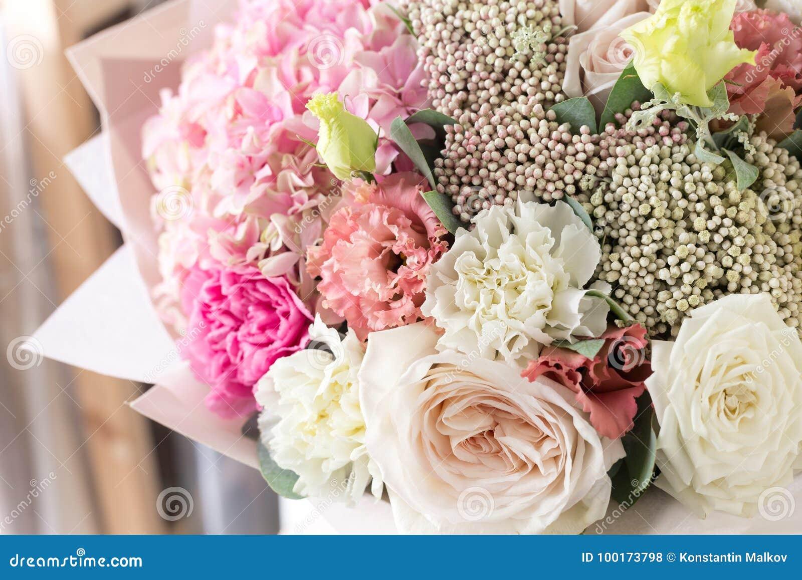 Bouquet in foamiran paper a simple bouquet of flowers and greens download bouquet in foamiran paper a simple bouquet of flowers and greens stock photo izmirmasajfo
