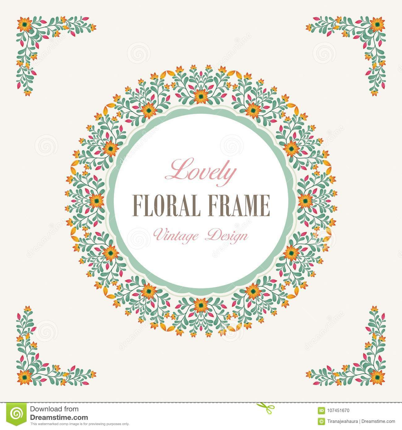 Bouquet of Lovely Flowers Design