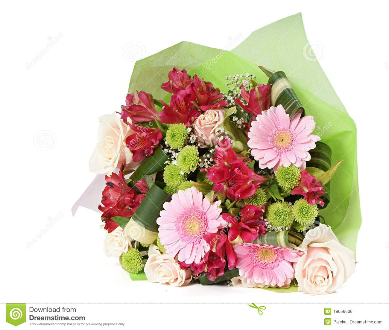 Bouquet Of Miscellaneous Flowers Stock Photo Image 18056606