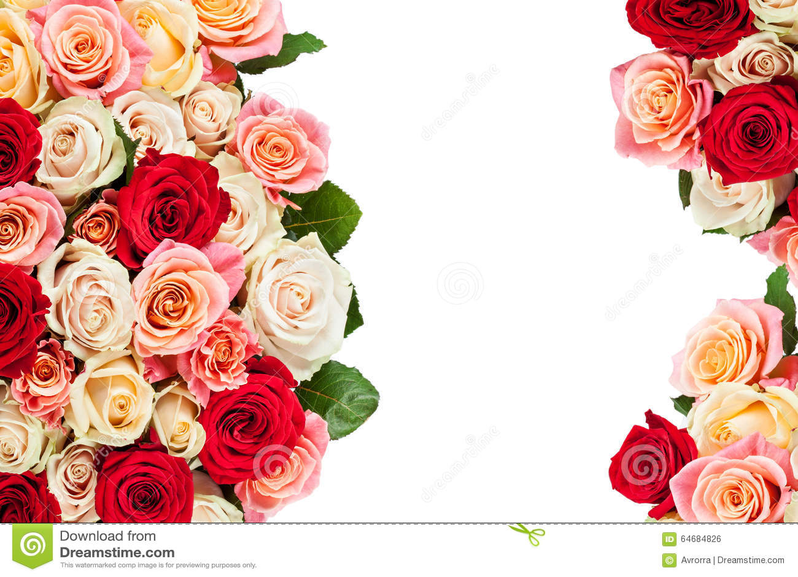 Bouquet multicolore lumineux des roses fleurs naturelles for Bouquet de fleurs lumineux