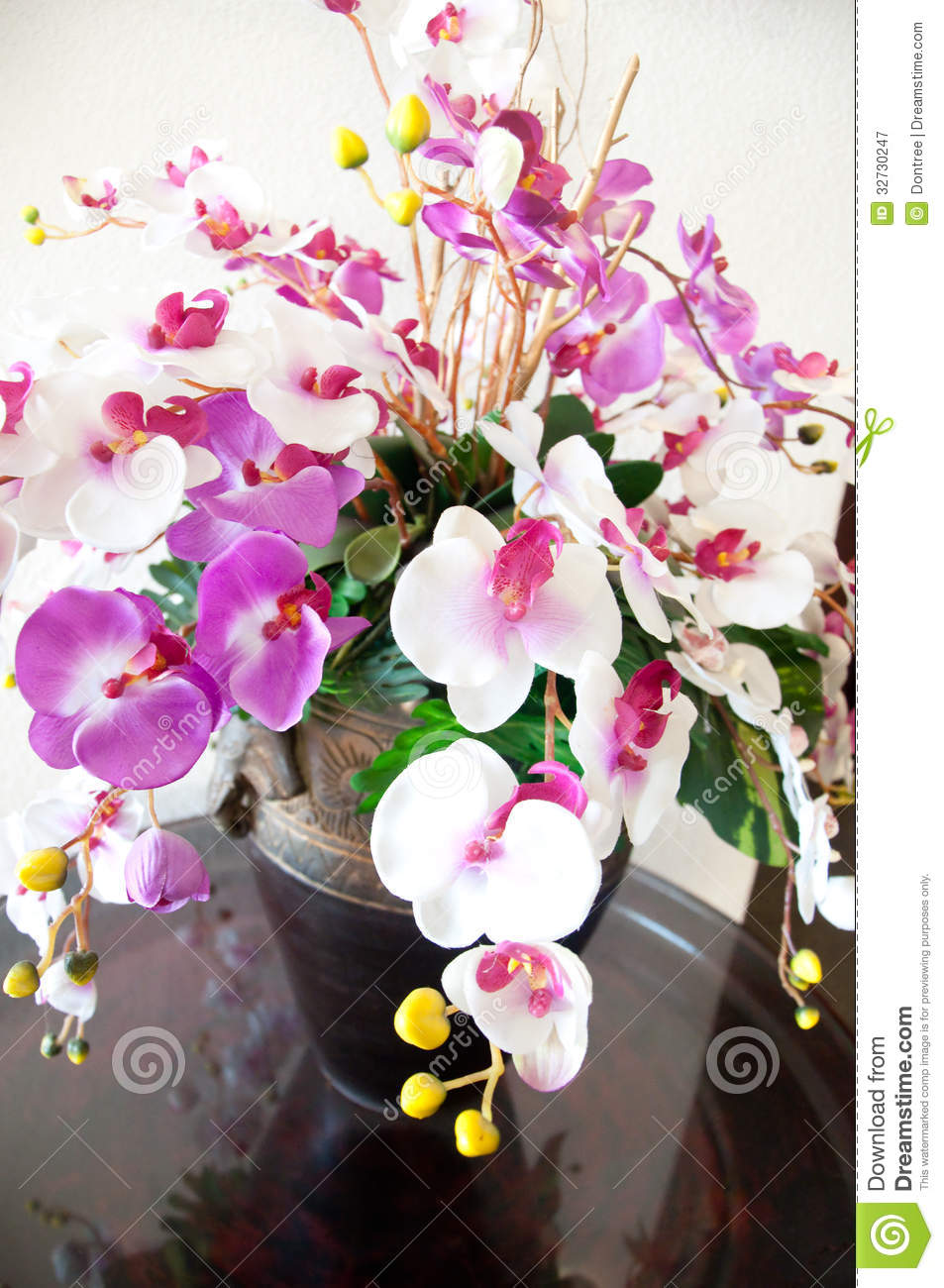 Bouquet of orchids arrangement centerpiece stock image image of royalty free stock photo reviewsmspy