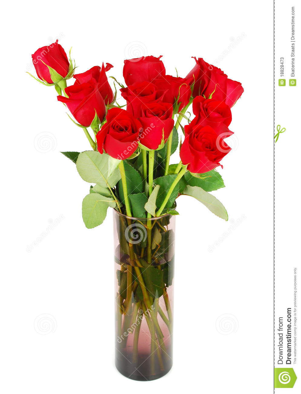 Bouquet Of Red Roses Stock Photos - Image: 18828473