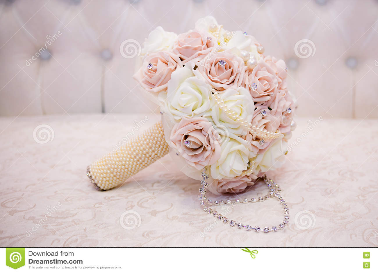 Bouquet Rose Blanc Image Stock Image Du Amour Décoration