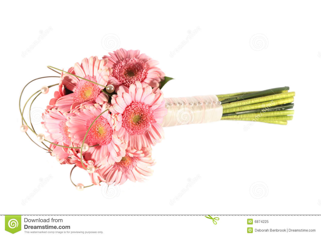 Bouquet rose de gerbera image stock image du bouquet for Bouquet de fleurs gerbera