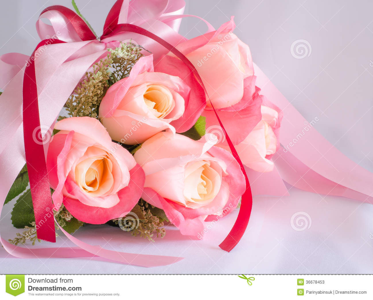 Bouquet Of Rose Flowers Stock Image Image Of Beauty 36678453