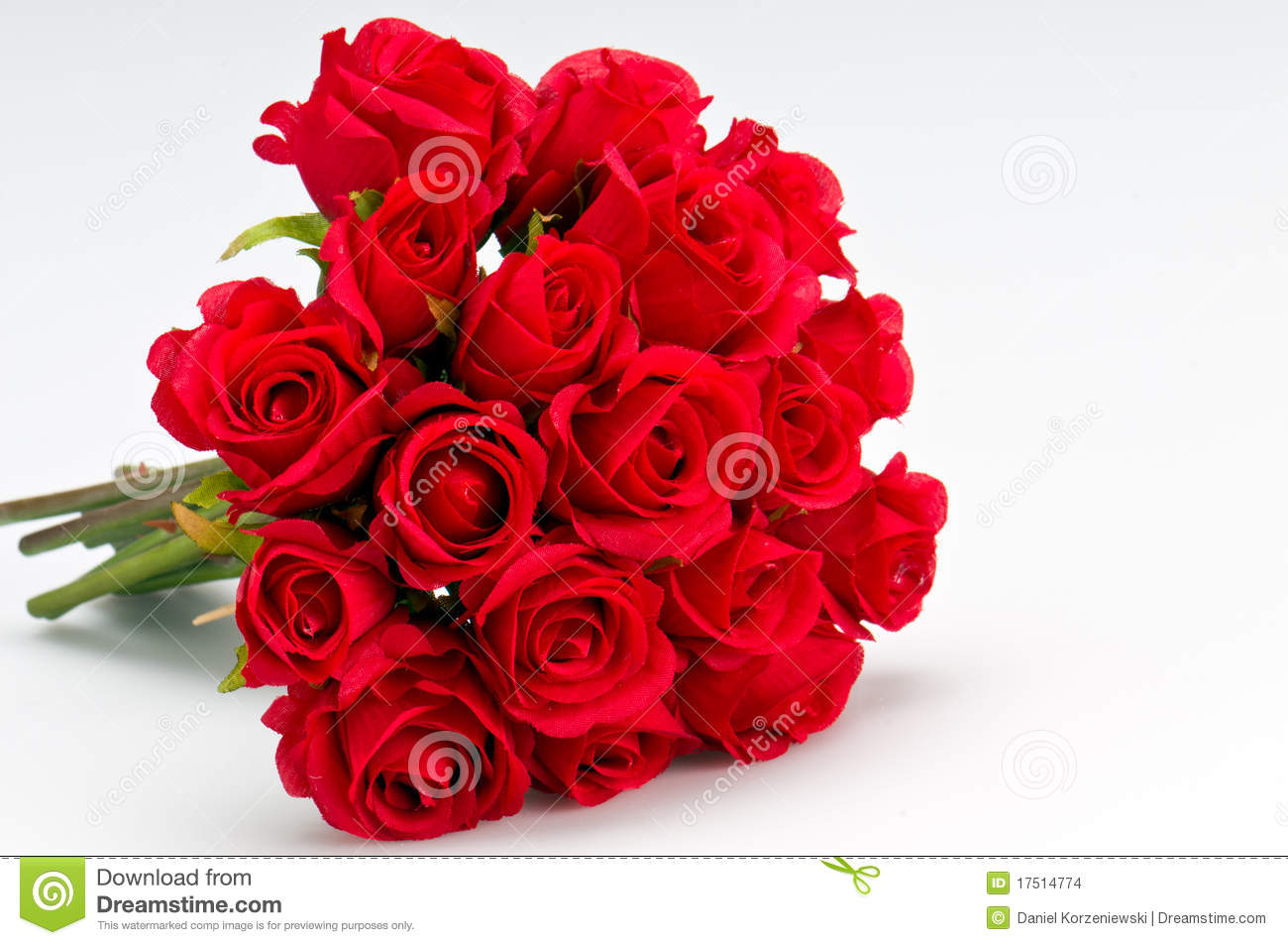 Bouquet of roses stock photo image of present ornamental for Images of bouquets of roses