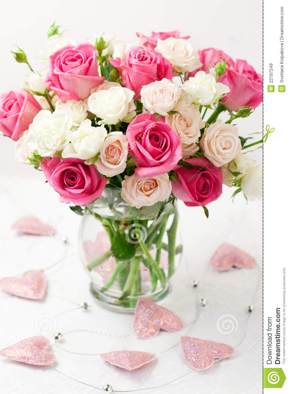 Bouquet of roses in vase stock image image of green 22197249 royalty free stock photo reviewsmspy