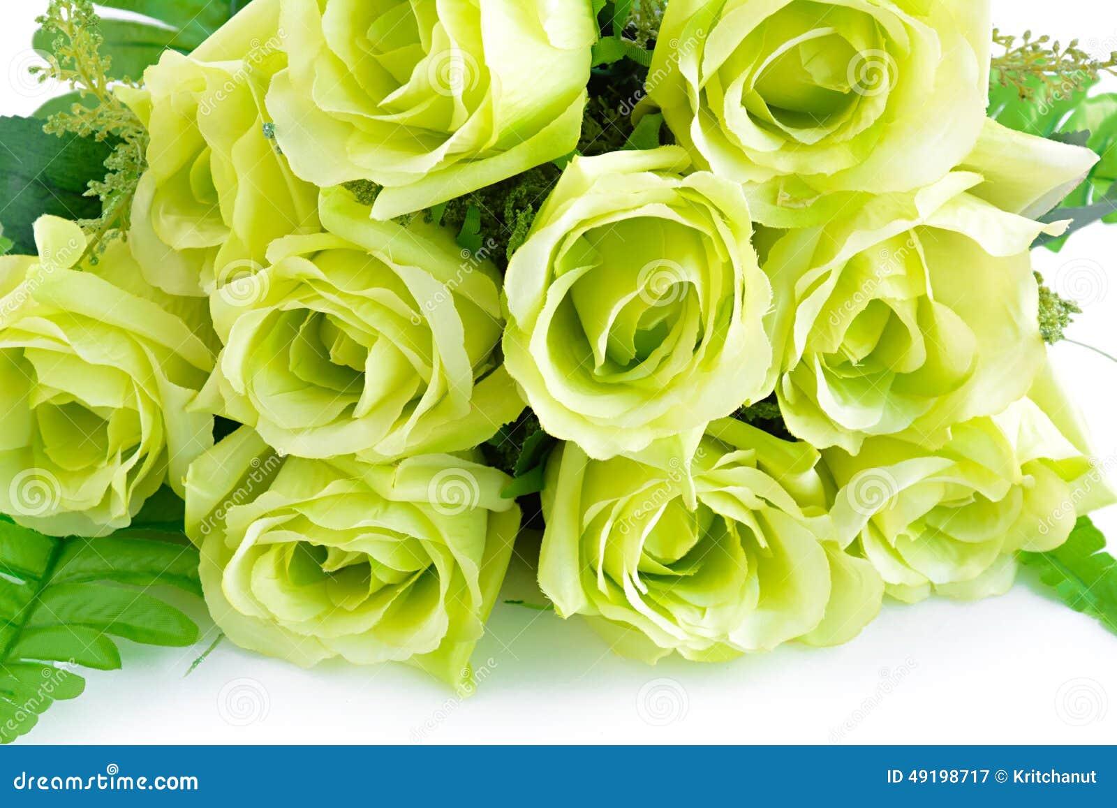 Bouquet de fleurs sur fond blanc for Bouquet de fleurs vert et blanc