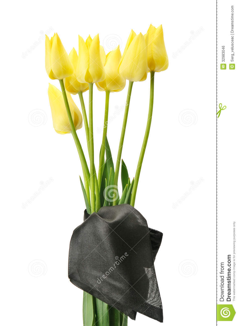 Bouquet of yellow flowers for a funeral stock photo image of love bouquet of yellow flowers for a funeral izmirmasajfo