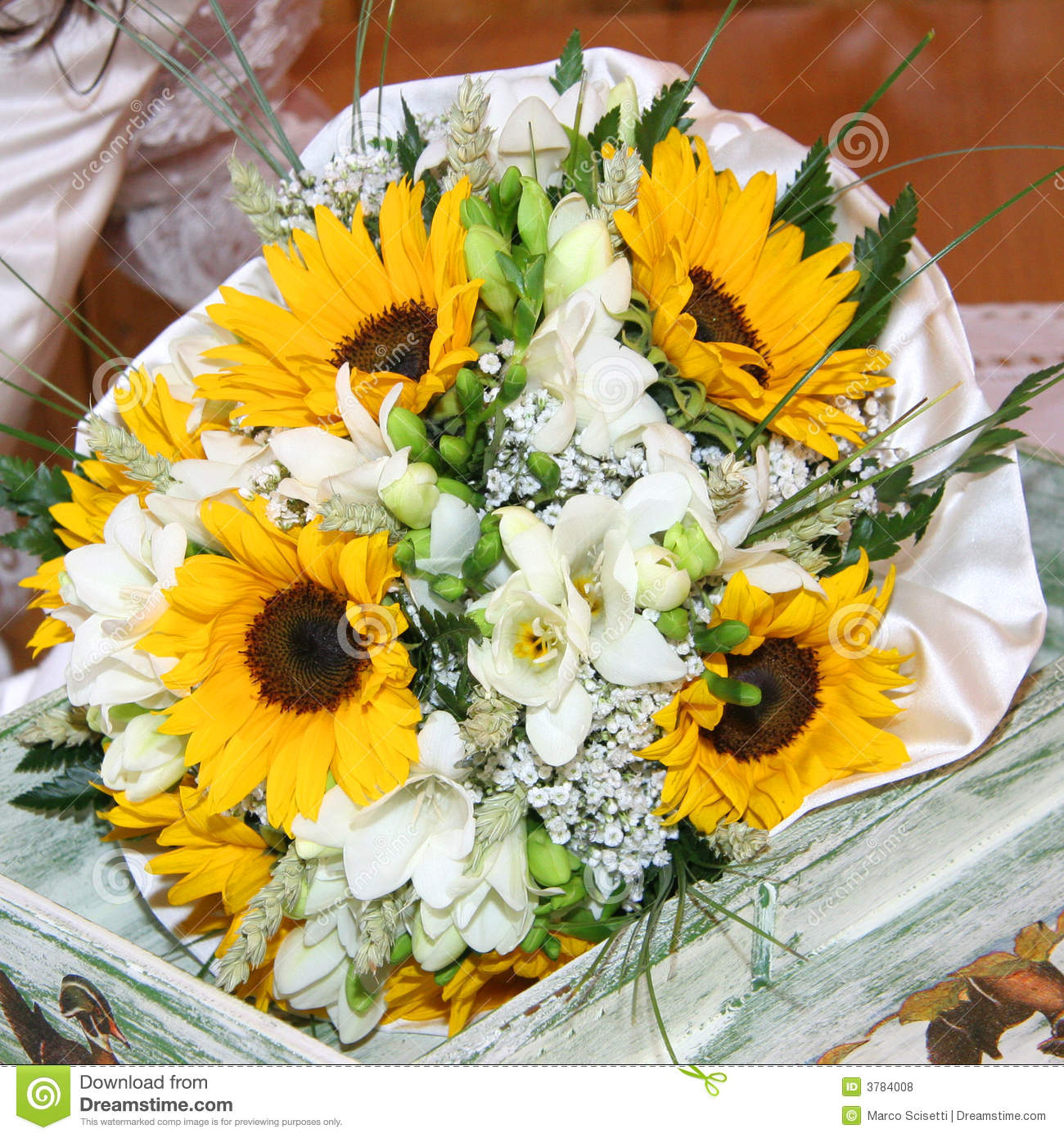 Bouquets Of Sunflowers Royalty Free Stock Photos - Image: 3784008