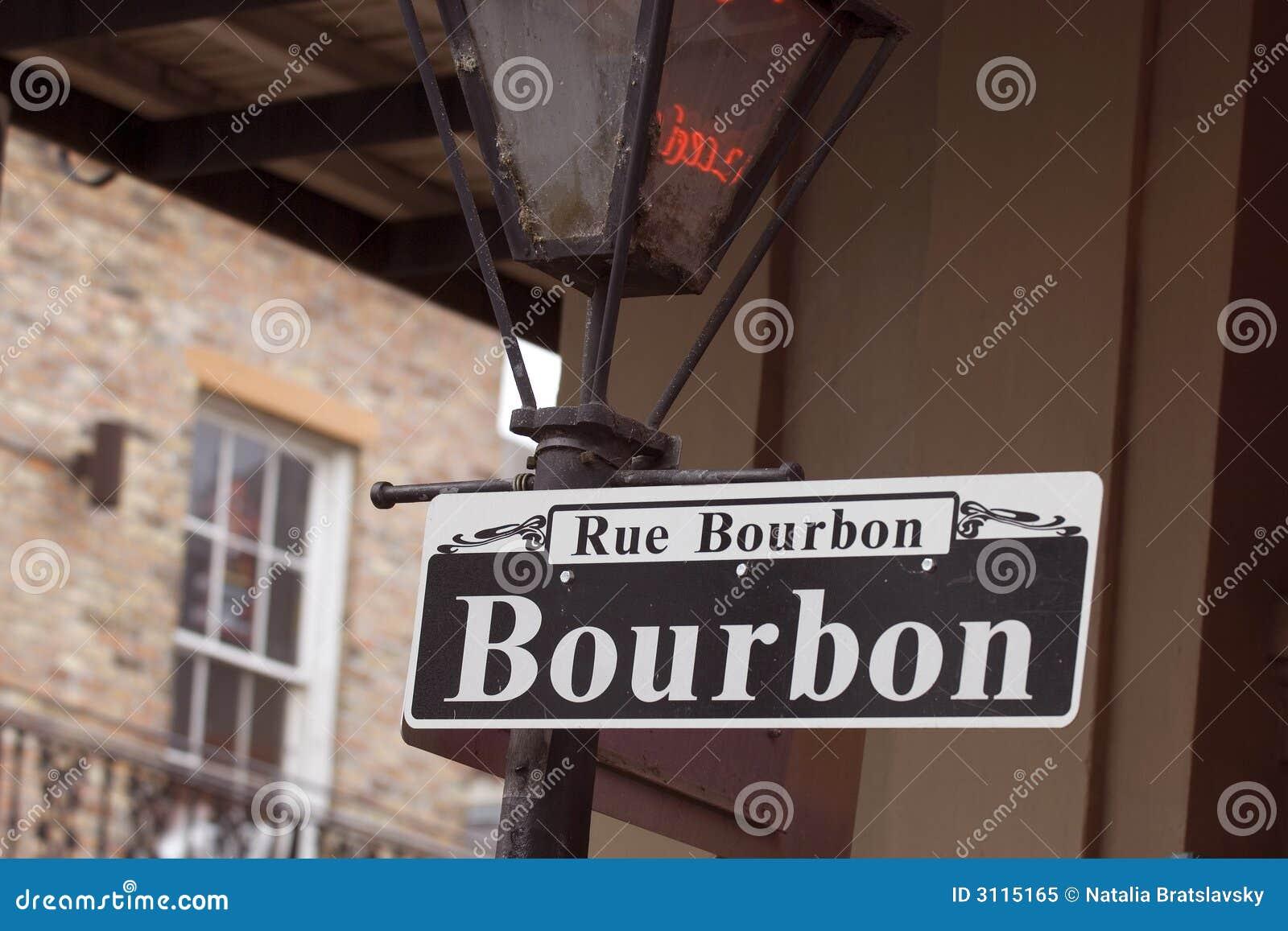 Bourbon rue