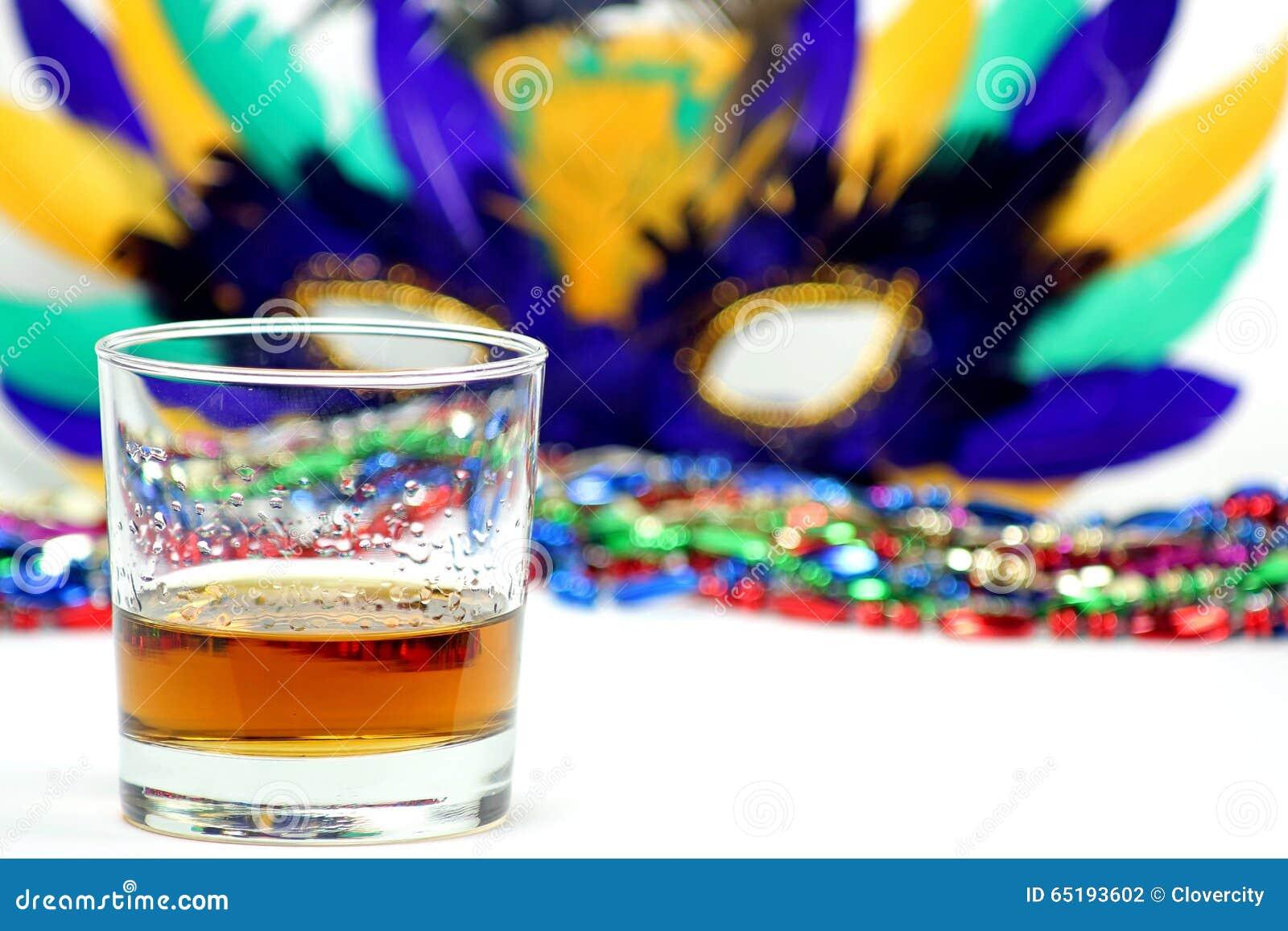 Bourbon, Staranny z koralikami i ostatki maską