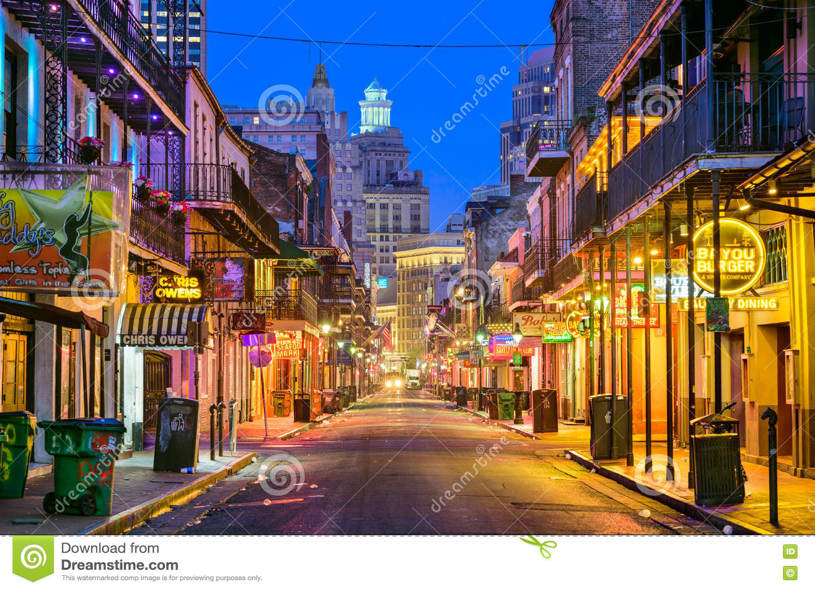 Bourbon-Straße New Orleans
