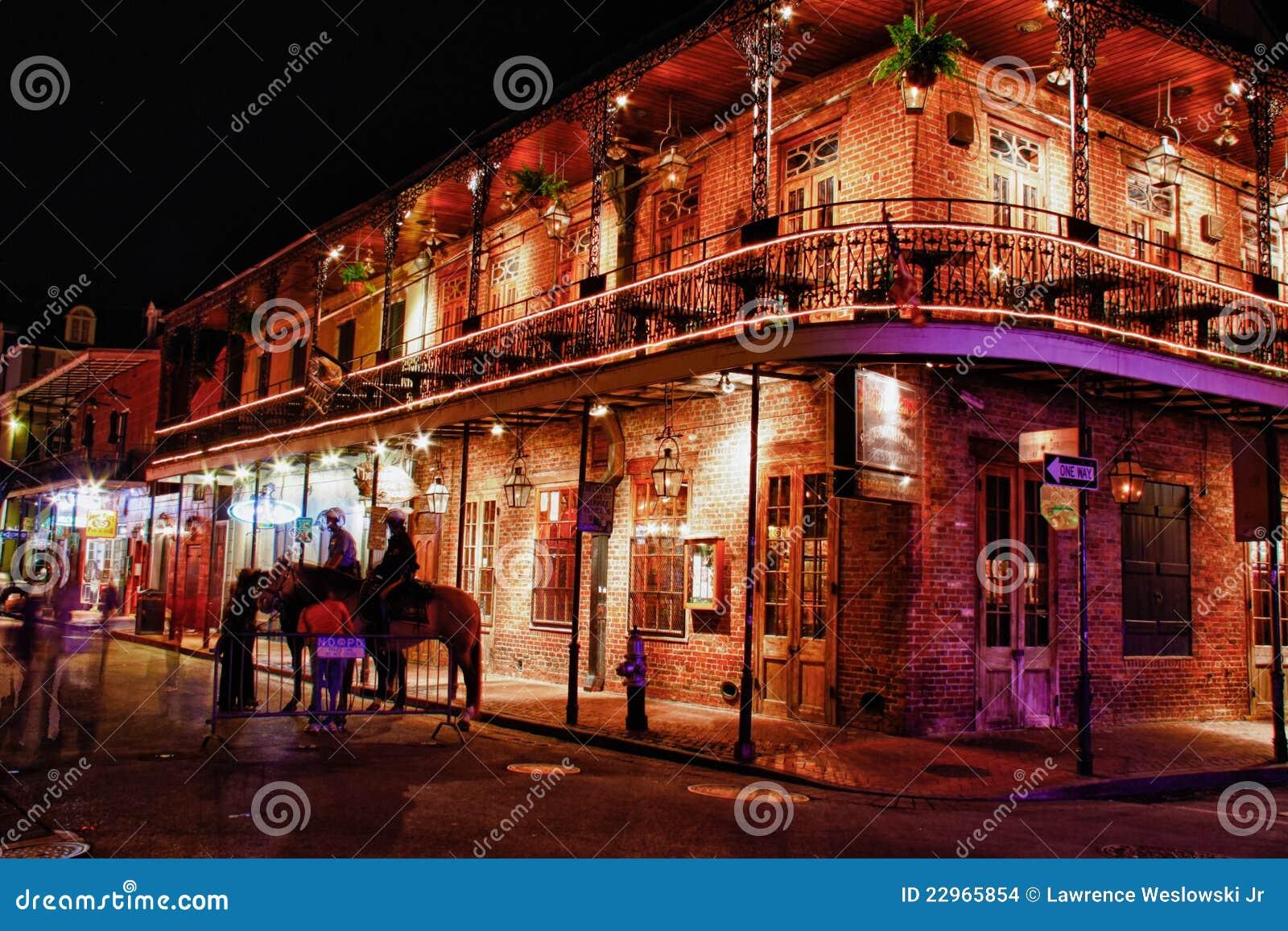Bourbon-Straße New Orleans - Glut-Steakhouse