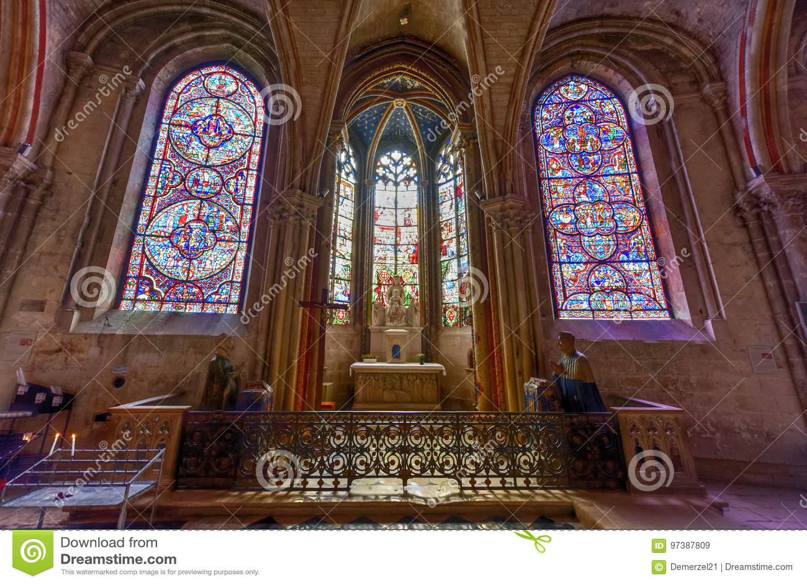 Bourges-Kathedrale - Frankreich